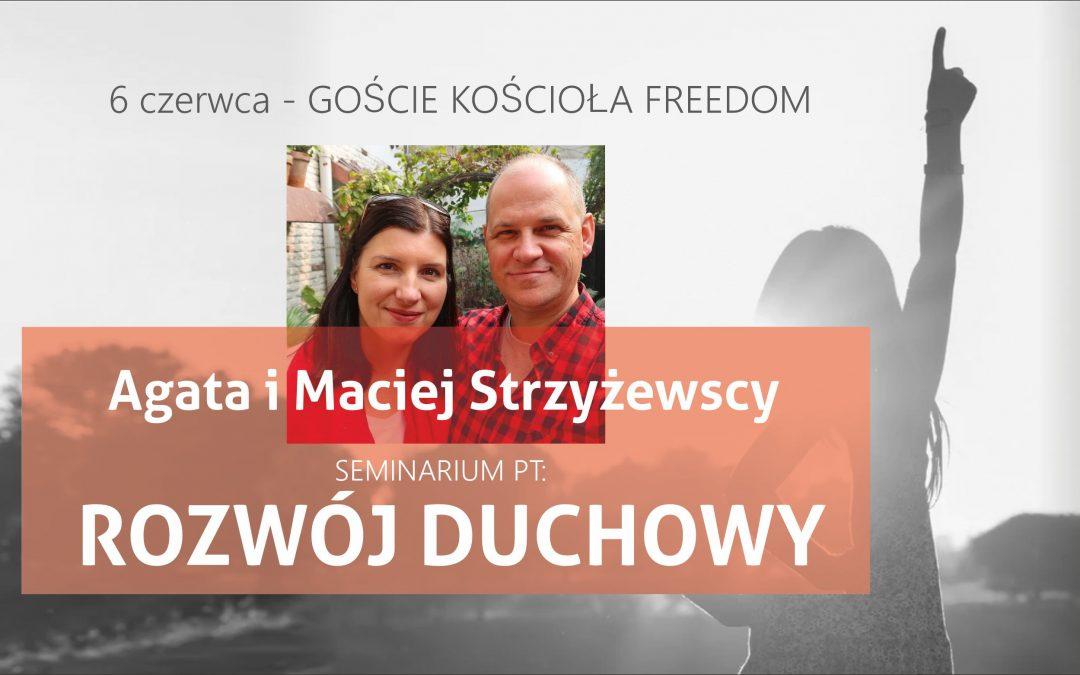 Agata Strzyżewska – Gość Kościoła Freedom