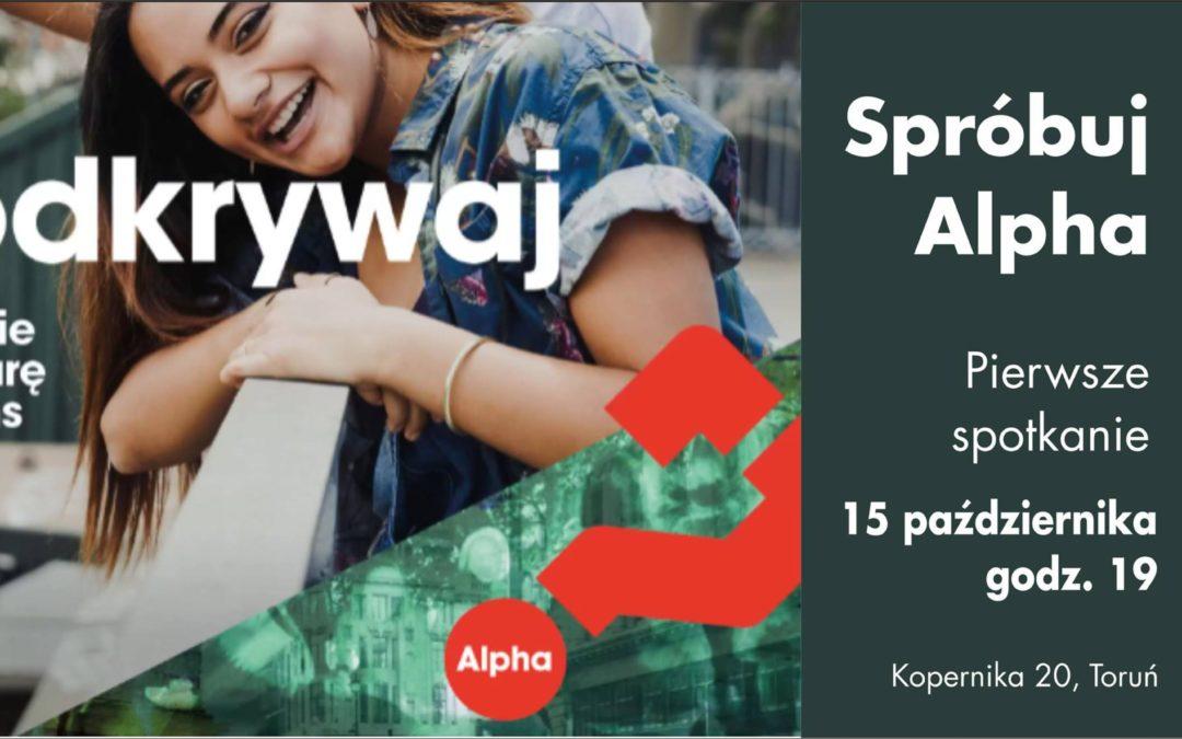 KURS ALPHA START 15 października