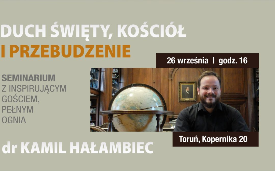 Kamil Hałambiec, gość kościoła Freedom
