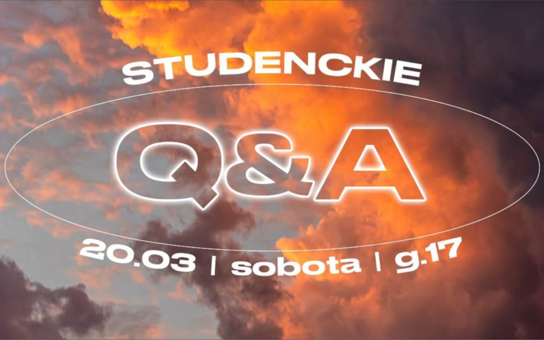 Q&A Spotkanie studenckie  |  Zapytaj pastora